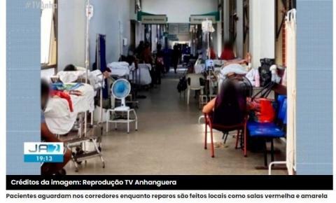 Em meio à Pandemia, HGP passa por reformas e pacientes aguardam no corredor