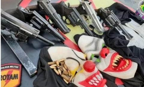 Cinco suspeitos de assalto a banco de Corumbá (GO) morrem em troca de tiros