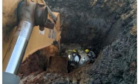 Homem morre soterrado em obra de poço em Goiás