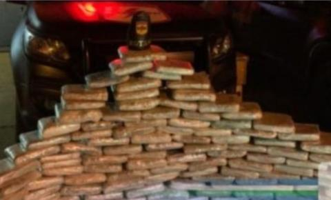 POLÍCIA MILITAR DE GOIÁS (ROTAM) FAZ GRANDE APREENSÃO DE DROGAS EM ÁGUAS LINDAS DE GOIÁS