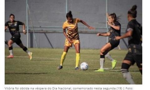 Time do DF conquista vaga na elite do futebol feminino