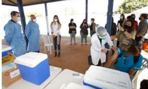 DF é o 4º no ranking das UFs que mais vacinaram população com 1ª dose