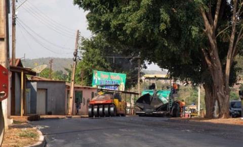 Governo do Estado de Goiás conclui o recapeamento asfáltico da GO 577