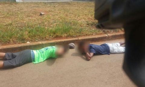 Policial militar de folga impede assalto e apreende menores em Santa Maria
