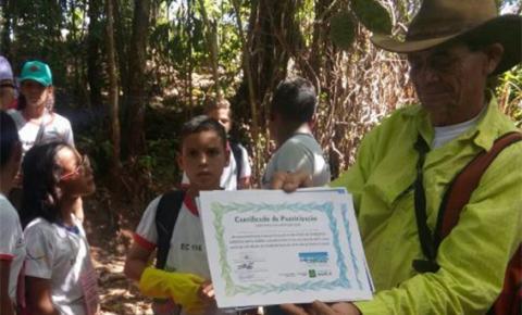 Técnico ambiental de Santa Maria está concorrendo ao prêmio de Educador Sustentável do GDF