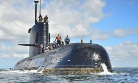 Dois navios encontram sinais que podem ser de submarino argentino