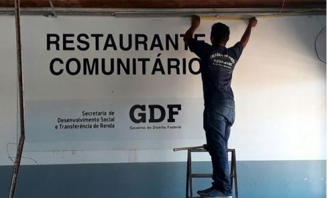 Reabertura do Restaurante Comunitário de Santa Maria nesta quarta-feira, dia 22