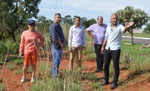 Lançamento das obras do Parque Ecológico de Santa Maria