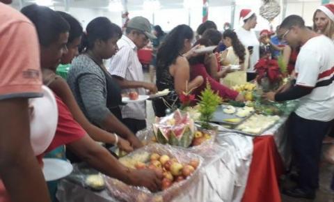 Administração realiza ceia de Natal Solidário para famílias de Santa Maria