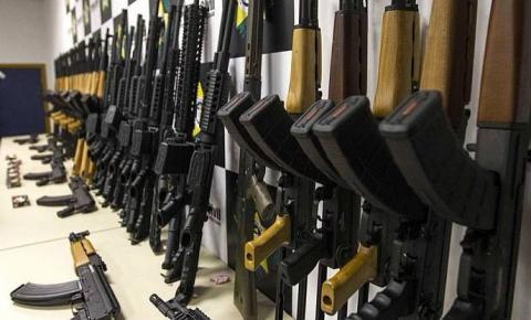 PF identifica origem das armas que abastecem o tráfico