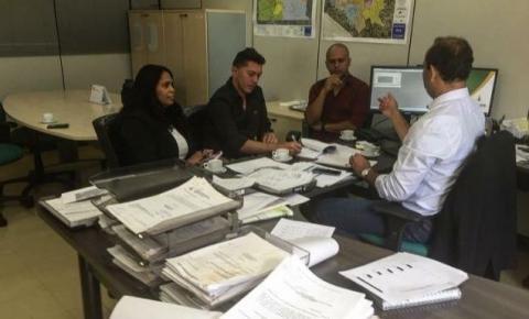 Administração e comunidade vão ao DFTrans solicitar melhorias para o transporte público de Santa Maria