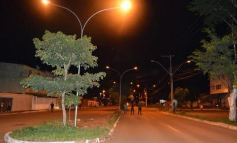 Nova iluminação da Qr 516 de Santa Maria leva mais segurança para os moradores