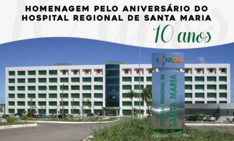 Comemoração do aniversário de 10 anos do Hospital de Santa Maria