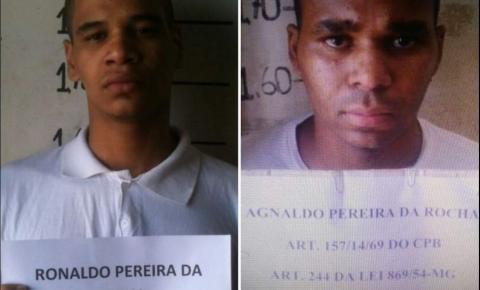 Bandidos que morreram em assalto a ônibus na BR-040 eram irmãos