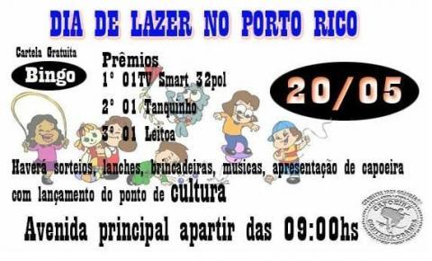 DOMINGO DE LAZER EM PORTO RICO.