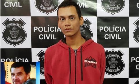 Jovem é preso suspeito de matar e roubar homem com golpes de pá em Luziânia