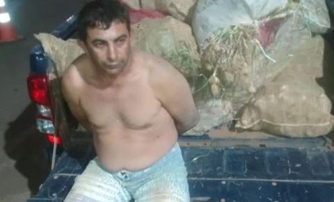Homem é preso suspeito de furtos a fazenda no DF