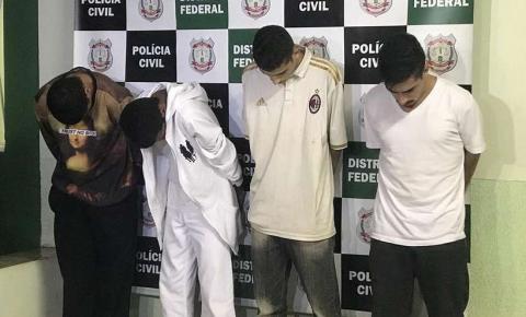Polícia prende os quatro envolvidos em execução de jovem na UnB