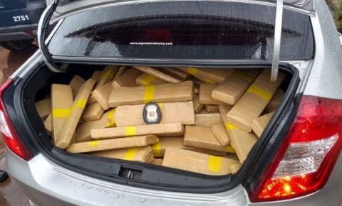 PMs interceptam 600kg de maconha que seriam trazidos para o DF