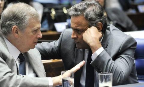 AÉCIO MORREU PARA O PSDB, MAS BRIGA PARA NÃO ENTRAR NO CAIXÃO