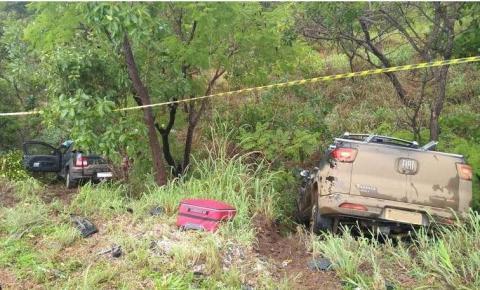 Acidente próximo a Cristalina (GO) deixa três mortos e dois feridos