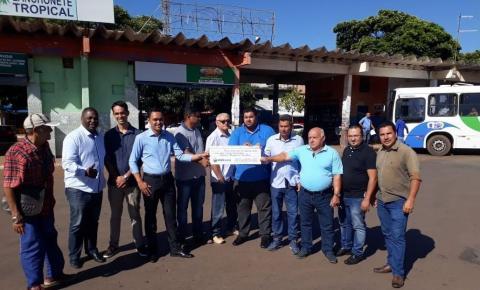 Vereadores devolvem ao executivo cerca de 130 mil reais, economizados no período de 2018.