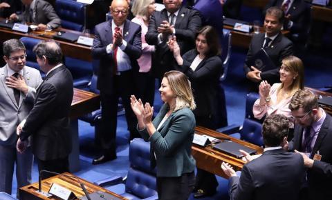 Senadora Leila é escolhida para ocupar cargo na Mesa Diretora