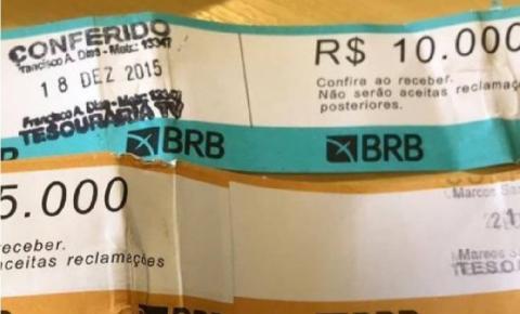 Dinheiro vivo e e-mails: as evidências do esquema criminoso no BRB