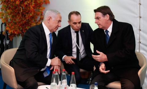 Bolsonaro chega a Israel prevendo boas parcerias