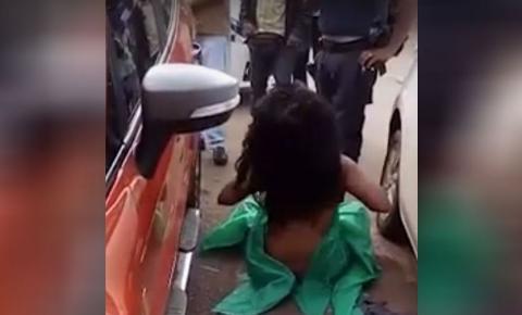 PM é preso acusado de agredir e deixar a mulher nua no DF