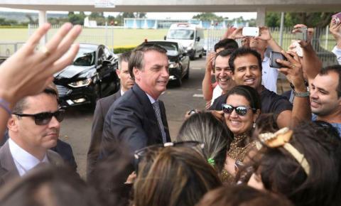 Bolsonaro pede apoio do povo para governar