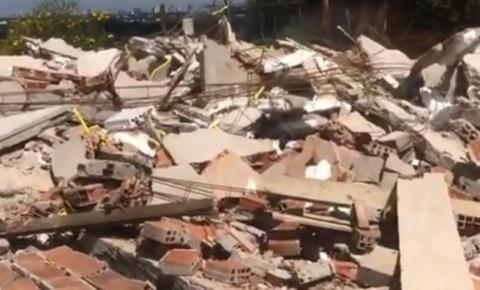 Filial de centro de candomblé é derrubada em operação do DF Legal
