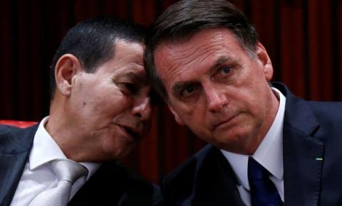 PT tem 'plano diabólico' contra o vice Mourão e Jair Bolsonaro