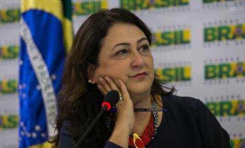 Kátia Abreu aparece na lista da grana da Odebrecht