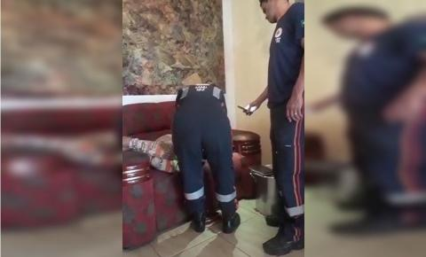 moradora passa mal após bater boca com administrador regional