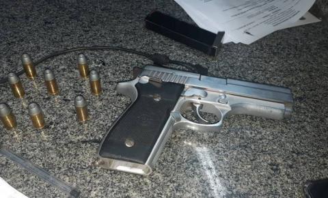 PMDF encontra arma de uso restrito em festa regada a álcool e drogas