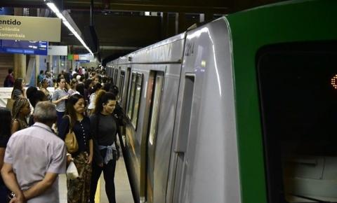 Sem receber benefícios, funcionários do Metrô-DF ameaçam nova greve