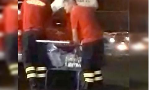 Corpo de Bombeiros do DF investiga transporte de cervejas em viatura