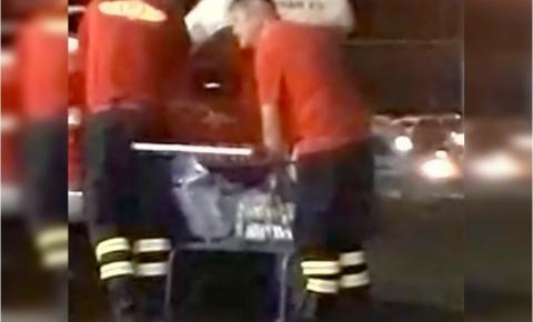 CBMDF identifica bombeiros que transportaram cerveja em viatura