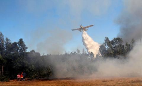 Portugal em alerta máximo contra incêndios florestais