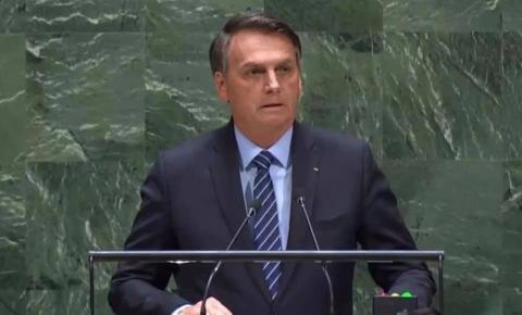 O DISCURSO - PR Bolsonaro na ONU