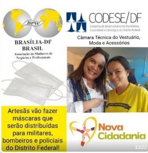 Associação Nova Cidadania, Câmara Técnica do Vestuário e Moda e Acessórios do Codese firmam parceria