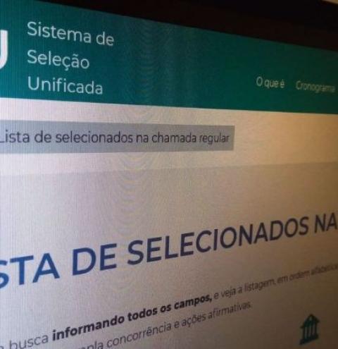 MEC libera lista de 52 mil candidatos aprovados
