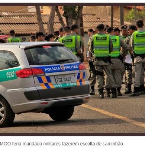 Justiça de Goiás bloqueia R$ 100 mil de coronel acusado de improbidade