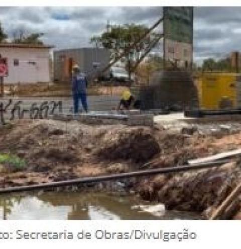 Obras de drenagem na DF-290 garantem 360 empregos