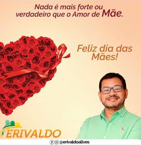 Erivaldo Alves presta homenagem às mães.
