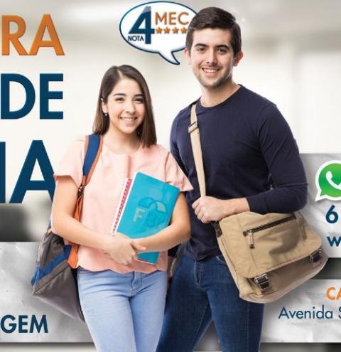 FACULDADE BRASILIA, COM NOTA 4 NO MEC, CHEGA EM SANTA MARIA!